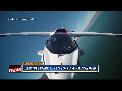 Pilots raise concerns over Icon A5 after Halladay's death