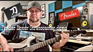 Fender Boxer Stratocaster quick demo
