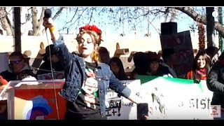 "WOMEN'S MARCH SANTA FE  2019 – SANTA FE PLAZA –   Divino Entertains ""Girls Wanna Have Fun"""