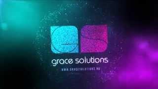 Grace Solutions logo - Студия рекламы(, 2014-11-14T19:49:44.000Z)