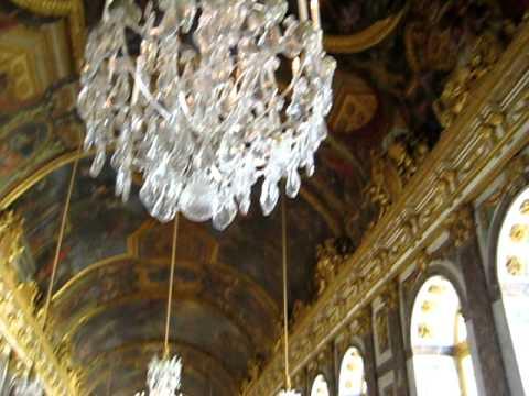 Speilsalen i Versailles.beth sales  versais paris.