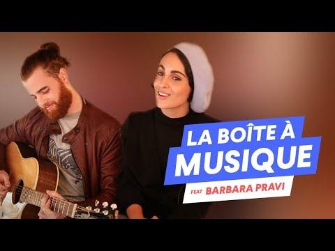 Barbara Pravi - La boîte à musique avec Desireless & Céline Dion