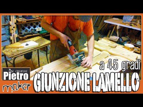 ✔️ LAMELLO GIUNZIONI LEGNO - Come fare una giunzione su 45° from YouTube · Duration:  5 minutes 32 seconds