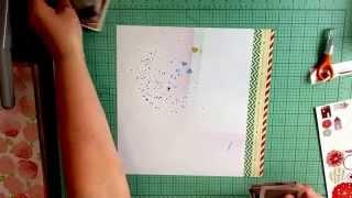 Scrapbook Process: Jessie Island / Calvinball