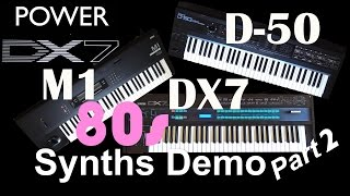 Want to know how capable Yamaha DX7, Roland D-50 and Korg M1 synthe...