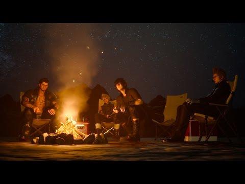 FINAL FANTASY XV GAMEPLAY ITA: Campeggio [Parte 2]