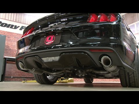 2015 2017 mustang gt roush axle back exhaust sound clips