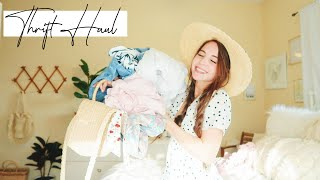 THRIFT HAUL | clothing & home decor