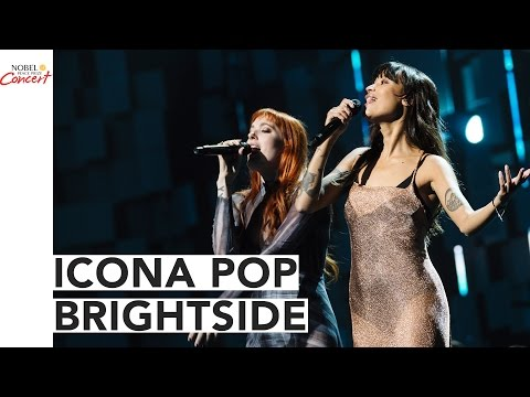 ICONA POP - BRIGHTSIDE - The 2016 Nobel Peace Prize Concert