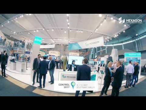 Hexagon Manufacturing Intelligence @ Control 2017