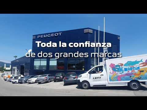 AMI Peugeot y Pescadería A. Martín. La mejor solución para el reparto.