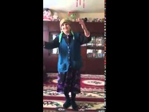 бабка танцует,Ахыска!))))))))