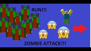 Theres to many zombies (Roblox : Zombie Attack)