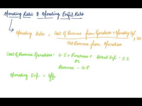 Operating Ratio & Operating Profit Ratio | Class 12 Accountancy Accounting Ratio