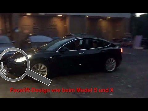 Tesla Model 3 Vorproduktion (PreProduction, Release Candidate)