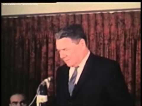 1967 - Warren Commission Member Hale Boggs stands by the Warren Report