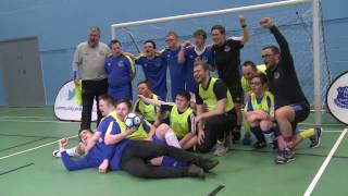 Seamus Coleman meets Everton's Down Syndrome team