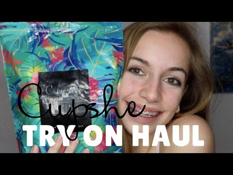 Cupshe Bathing Suit Try On HAUL