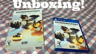 Overwatch Origins Edition PC/PS4 Unboxing