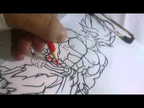 Goku Ssj 1 Drawing Tutorial