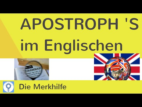 Englisch genitiv apostroph bachelorarbeit marketingkonzept pdf