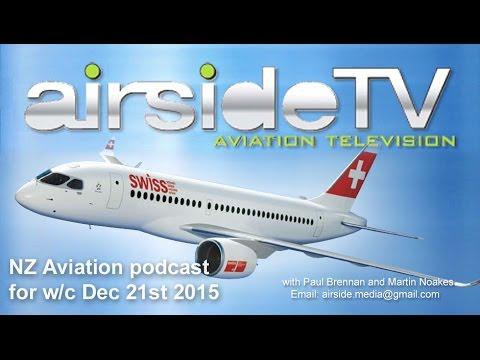 NZ Aviation Podcast w/c December 21 2015