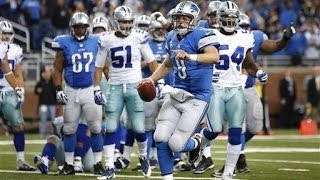 Lions Beat the Cowboys   Everyone Goes Nuts