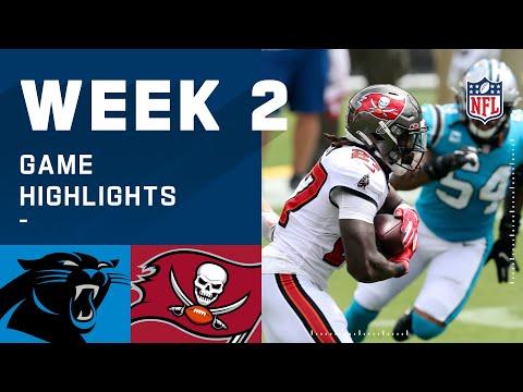 Panthers vs. Buccaneers Week 2 Highlights | NFL 2020