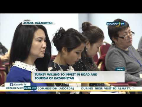 Turkey willing to invest in road and tourism of Kazakhstan - Kazakh TV