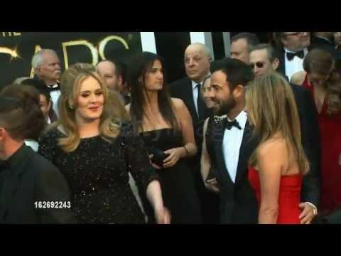 Adele - Adele & Jennifer Aniston At 85Th Annual Academy Award 24 january 2013 OSCARS 2013