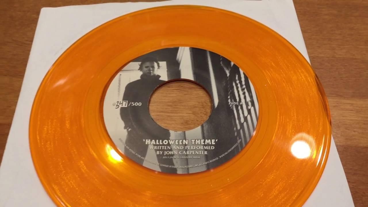 halloween 1978 soundtrack collectible vinyl - youtube