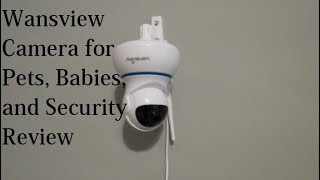 Wifi Video Camera for Security, Pets or Babies! Wansview Wireless Wifi Camera Review ♥ ♥