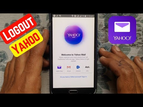 How to have a sign on yahoo mail from mobile