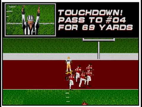 College Football USA '97 (video 166) (Sega Megadrive / Genesis)