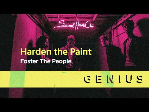 Foster the People - Harden The Paint (Lyric Video)