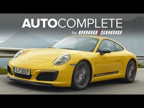 AutoComplete: Porsche 911 Touring package offers