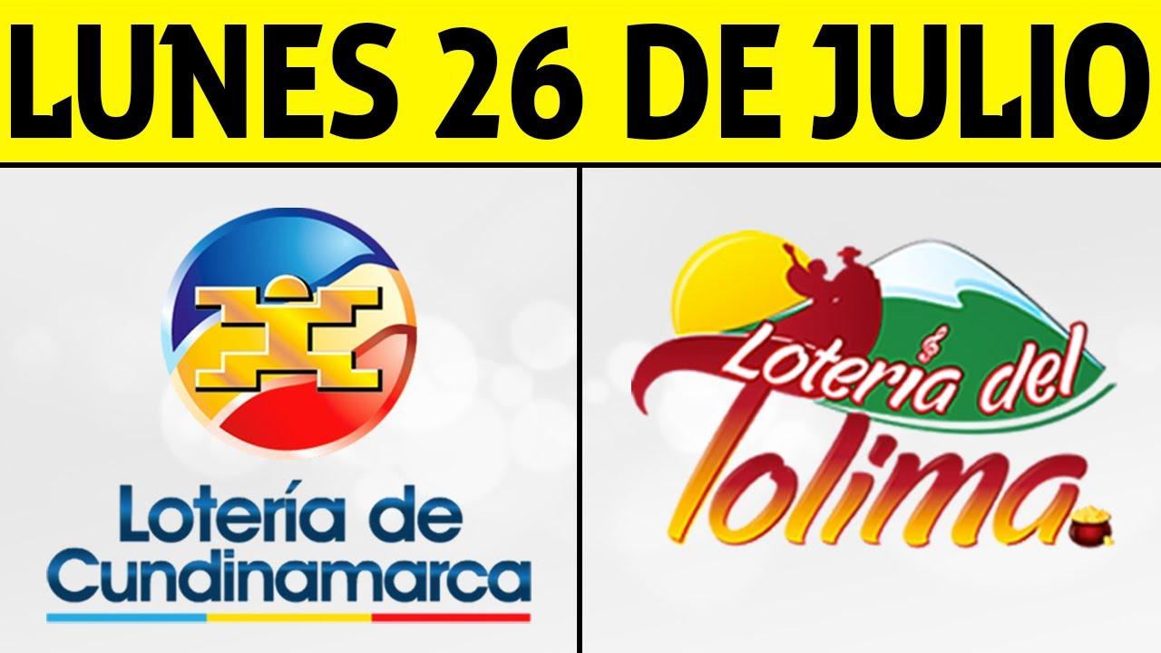 Resultados Lotería de CUNDINAMARCA y TOLIMA Lunes 26 de Julio de 2021   PREMIO MAYOR 😱💰🚨