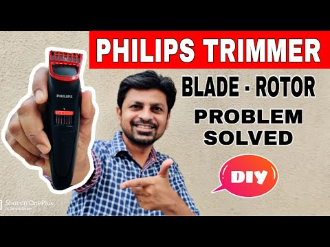 How to Fix #Trimmer Blade and Rotor Problem I DIY