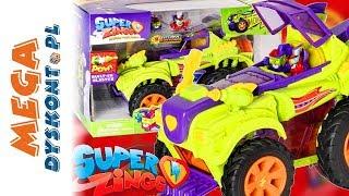 SUPER ZINGS ⚡ HERO MONSTER ROLLER SUPERBOHATERÓW VS MONSTER ROLLER VILLAIN TRUCK SUPERZŁOCZYŃCÓW ⚡