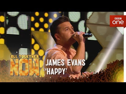 James Evans performs 'Happy' by Pharrell Williams - All Together Now: Episode 4