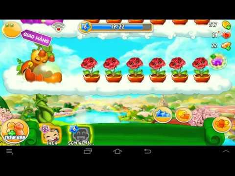 Khu vườn trên mây || Khu vườn trên mây mobile - Đẳng cấp game trồng trọt