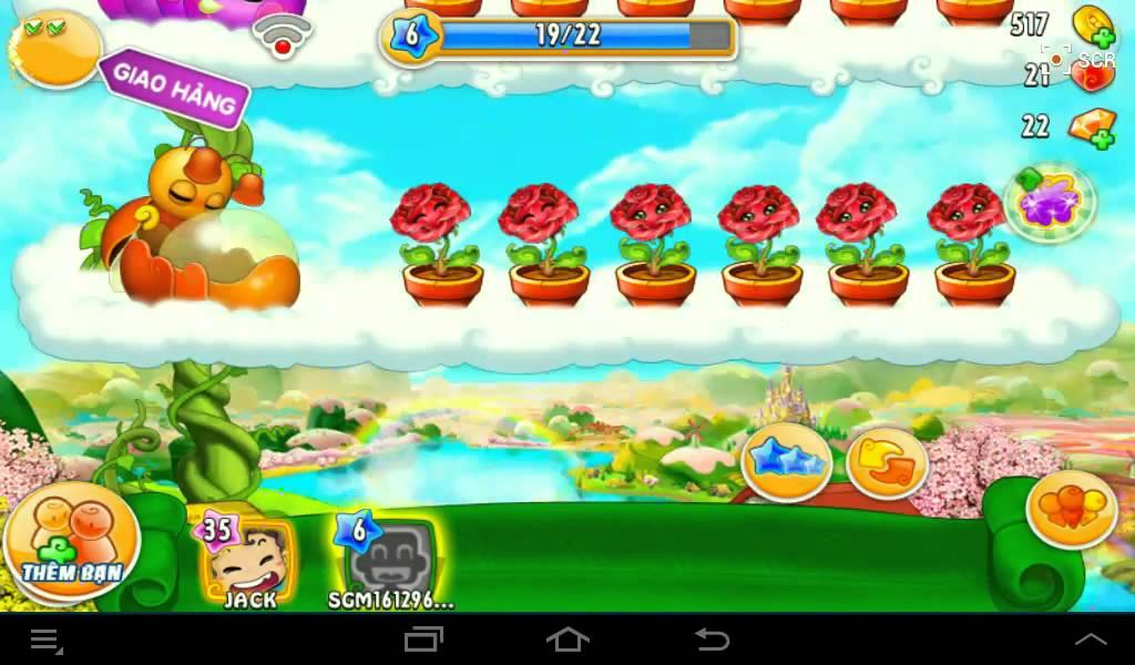 Khu vườn trên mây || Khu vườn trên mây mobile – Đẳng cấp game trồng trọt