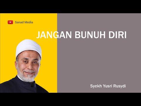 Syekh Yusri: Jangan Bunuh Diri Walau Hidupmu Berat