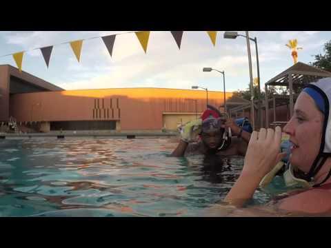 Underwater hockey takes root in desert