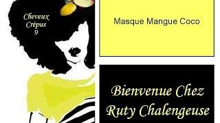 Masque Mangue & Coco - Cheveux Crèpus Vidéo 9