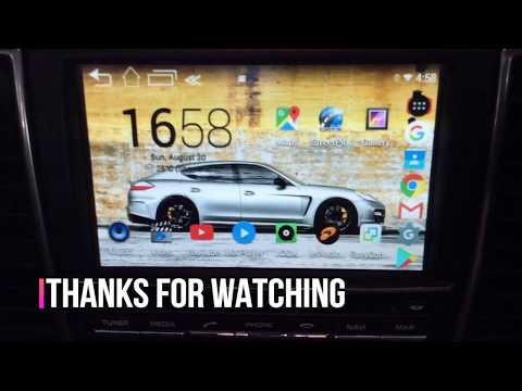 Porsche Panamera PCM 3.1 Original Touchscreen with Android System