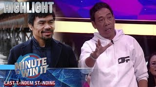 Long Mejia, may mensahe kay Senator Manny Pacquiao | Minute To Win It