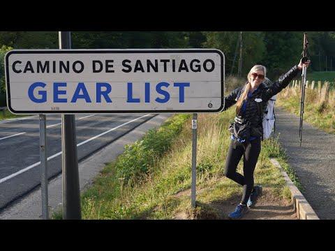 Camino de Santiago Gear List (New Pack)