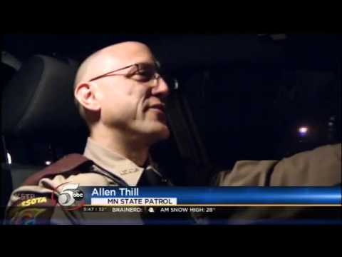 Christmas Day Ride Along with the Minnesota State Patrol