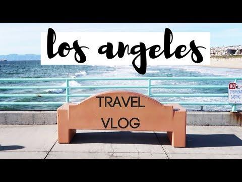 TRAVEL VLOG: LOS ANGELES | GLUTEN FREE VEGAN SOFT PRETZELS | MANHATTAN BEACH